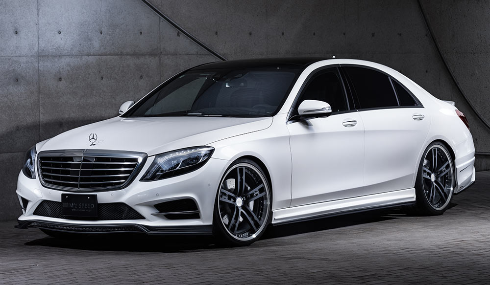 <strong>S-Class W222<br></strong><span>S400h/S550 AMG Line</span></strong>